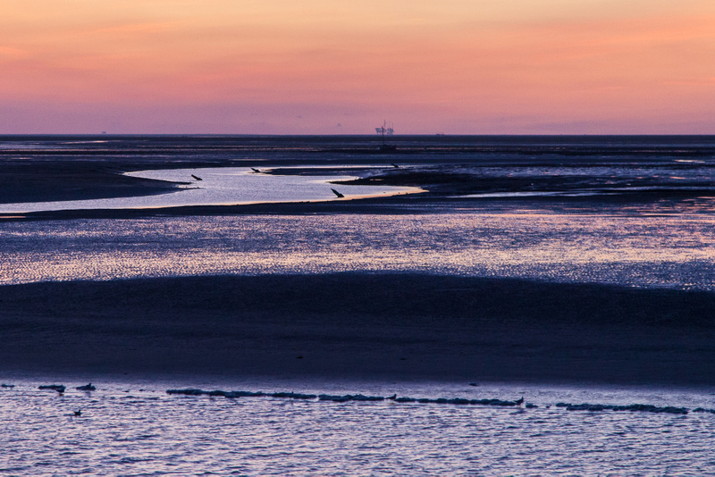Schiermonnikoog sunset on the Wad